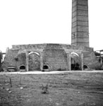 12-chamber kiln from south-west, Roslin Colliery & Brick Works, Midlothian