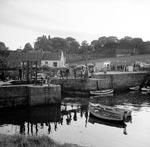 Dock gates, St Andrews Harbour, St Andrews, Fife