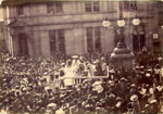 Crowning the First Lanimer Queen, Lanark 1893