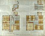 Architectural drawings for Stranraer High School, 1910