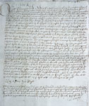 Pension from Charles II