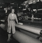 Weaver at her Loom, Hillbank Works