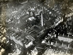 Aerial view of Heathfield Works, Dundee, 11 January 1923