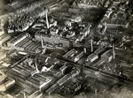 Aerial view of Tay Works, Dundee, 11 January 1923