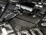 Aerial view of Bowbridge Works, Dundee, 11 December 1922