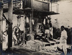 Workers in press-house, India, c1900