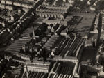 Aerial photograph showing mills and factories, Dundee