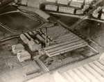 Aerial view of Densfield Works, North Isla Street, Dundee