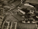 Aerial view of Densfield Works and Dens Park Football Ground