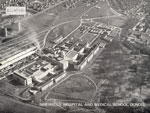 Aerial view of Ninewells Hospital and Medical School, Dundee, 1972