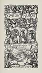 Illustrated title-page (by Laurence Houseman) for Christina Rossetti, Goblin Market, 1893