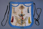 William Pringle's apron, Loyal Tyneside Lodge of Oddfellows