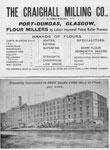 Advertisement for Craighall Milling Co. Ltd, Glasgow, 1901