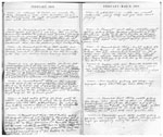 A) Muirkirk Farm Diary 1900 - pages 10 and 11