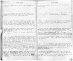 A) Muirkirk Farm Diary 1900 - pages 26 and 27