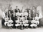 Alexander Hall & Co shipyard's football team, 1917-18