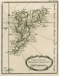 1764 Map of Shetland