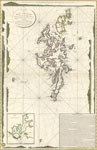 1805 French Naval Chart