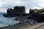 Blackness Castle from the west, 1978