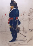 """Ye Adjutant of ye 90th Light Infantry in his chaleur pour vivre"" by Henry Hope Crealock"