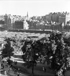 View across East Princes Street Gardens