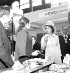 Marchioness of Lothian opens Scotland's Food Exhibition at the Waverley Market in Edinburgh