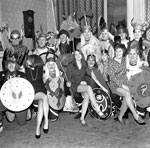 Shetland Association celebrate Up-Helly-Aa at the Zetland Halls in Edinburgh