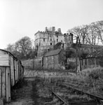 Exterior of Rossend Castle