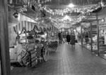 Waverley Market Christmas shoppers 1985
