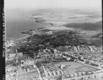 RAF aerial photograph of Kirkwall, Orkney Islands
