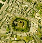 Aerial view of Rothesay Castle, Bute, Argyll & Bute