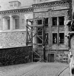 Repairs to Stirling Castle 1975