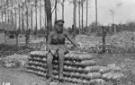05/05/1915: Souvenirs for the Alleymans (shells for a large trench mortar)