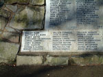 East Kilbride War Memorial - The World War II Names