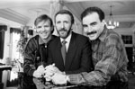 Alex McLeish, Danny McGrain and Willie Miller, 1988