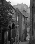 Looking down The Vennel, Edinburgh, 1988