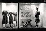 Window display, ladies fashion, 1951
