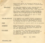 West Park Research Station Report for 27th April, 1943