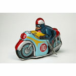 Mechanical toy motorcycle