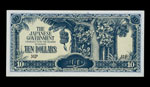 10 dollar note for Malaya