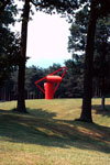 Alexander Lieberman's 'Adam', 1970, Storm King Art Center