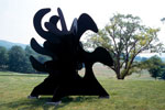 Alexander Calder's 'Tripes' 1974, Storm King Art Center