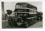 AEC double-decker bus BAG 147