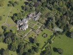 Balcarres House, Fife, Scotland - Aerial View