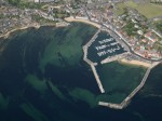 Anstruther Harbour, Fife, Scotland - Aerial View