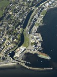 Ardrishaig, Argyll and Bute, Scotland - Aerial View