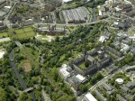 Yorkhill, Glasgow, Scotland - Aerial View