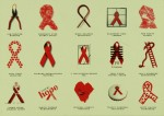 World AIDS Day - Ribbons