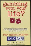 Gambling with your life? - TALKSAFE