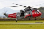 Sea King Helicopter at Stirling Castle